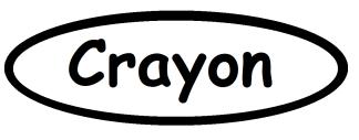 crayon-template