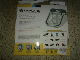 Cardboard from the Lapcare Multi Function Stand